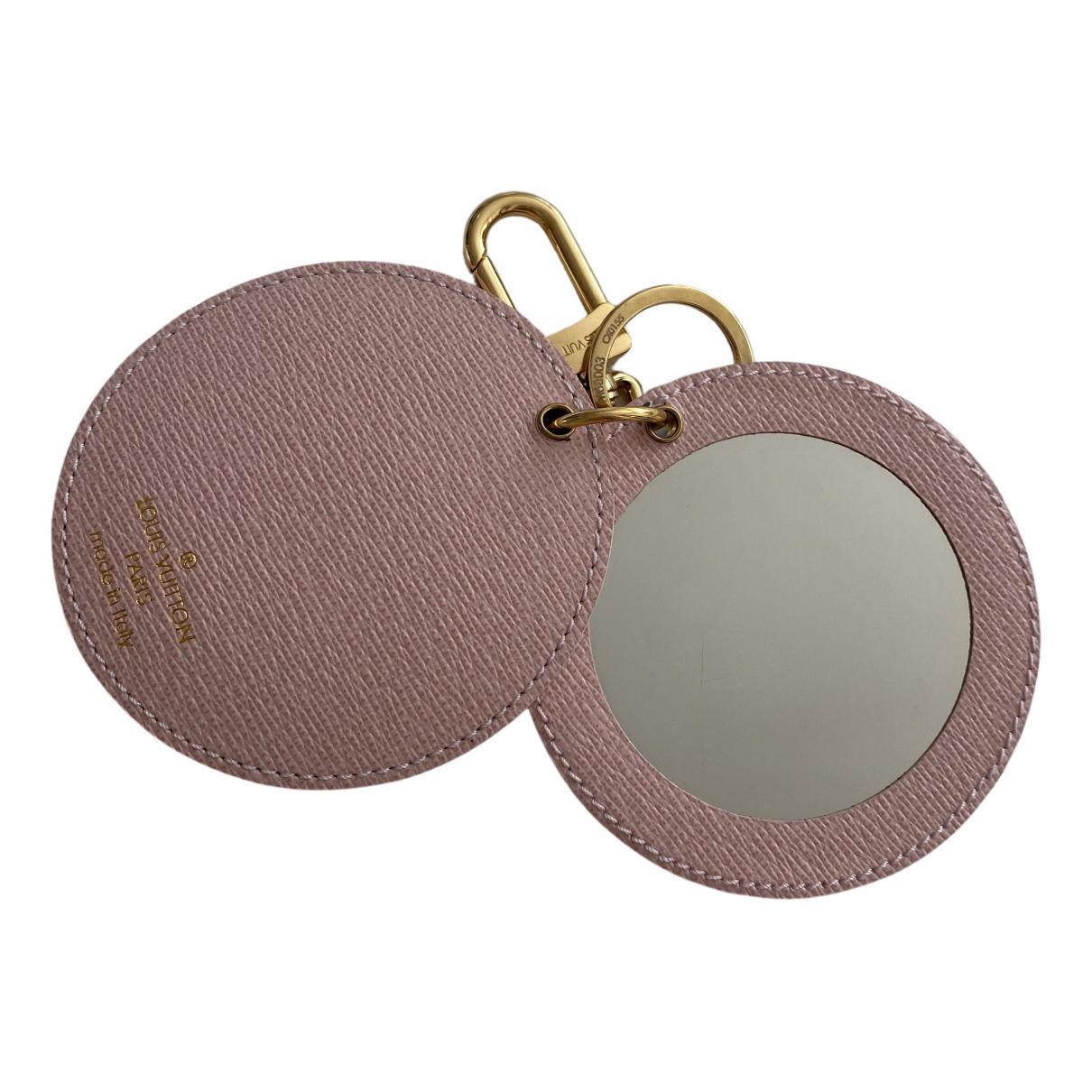 Louis Vuitton - Petite maroquinerie   pour femme en toile - rose