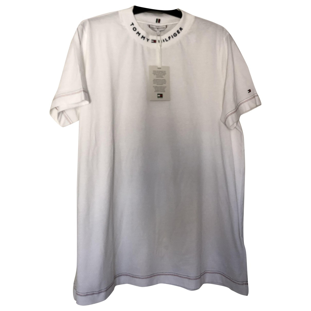 Tommy Hilfiger N White Cotton  top for Women L International