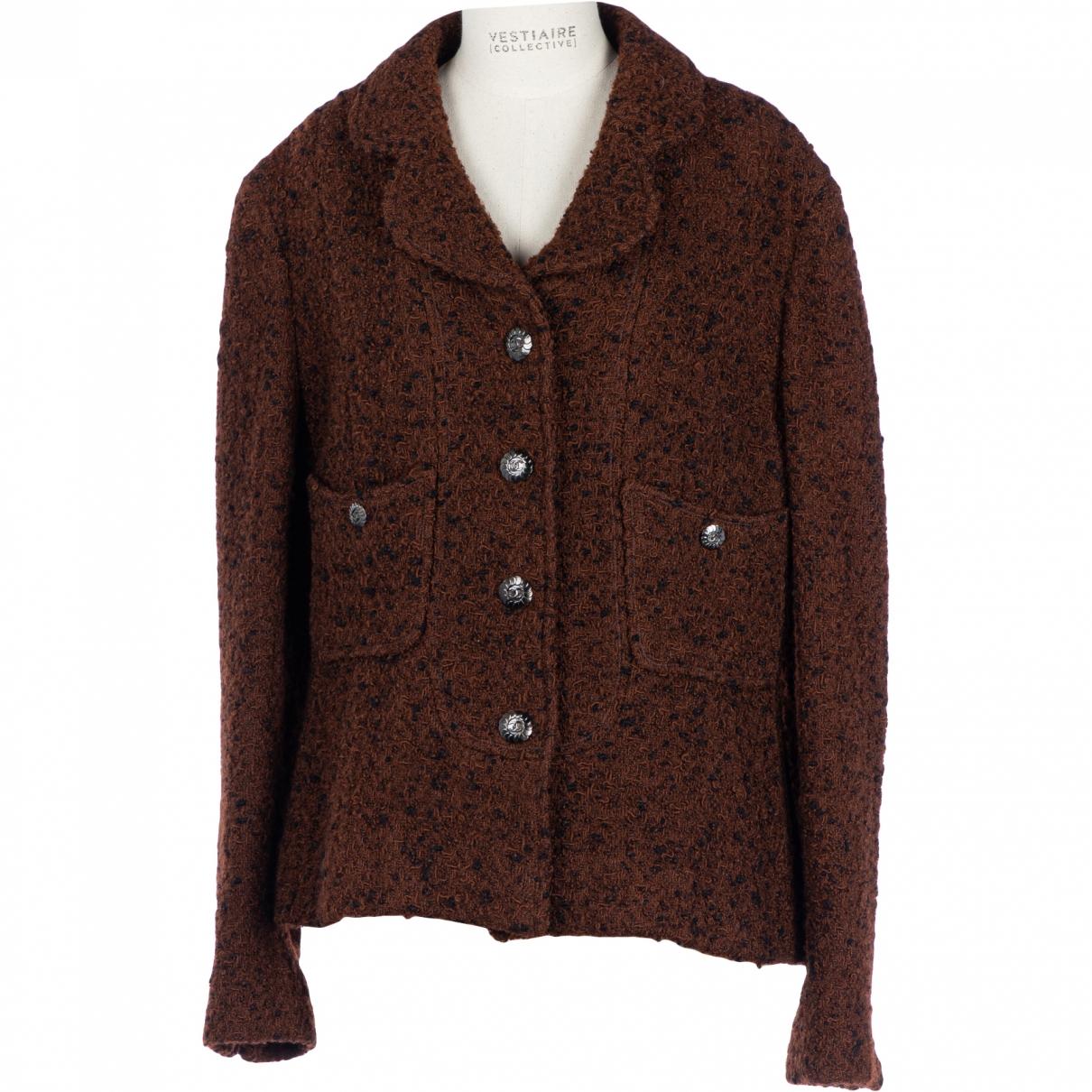 Chanel \N Brown Wool jacket for Women 44 FR
