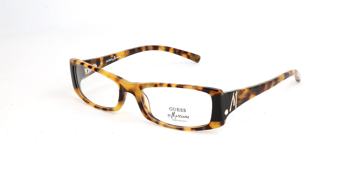 Guess GM 0102 H07 Men's Glasses Tortoise Size 53 - Free Lenses - HSA/FSA Insurance - Blue Light Block Available
