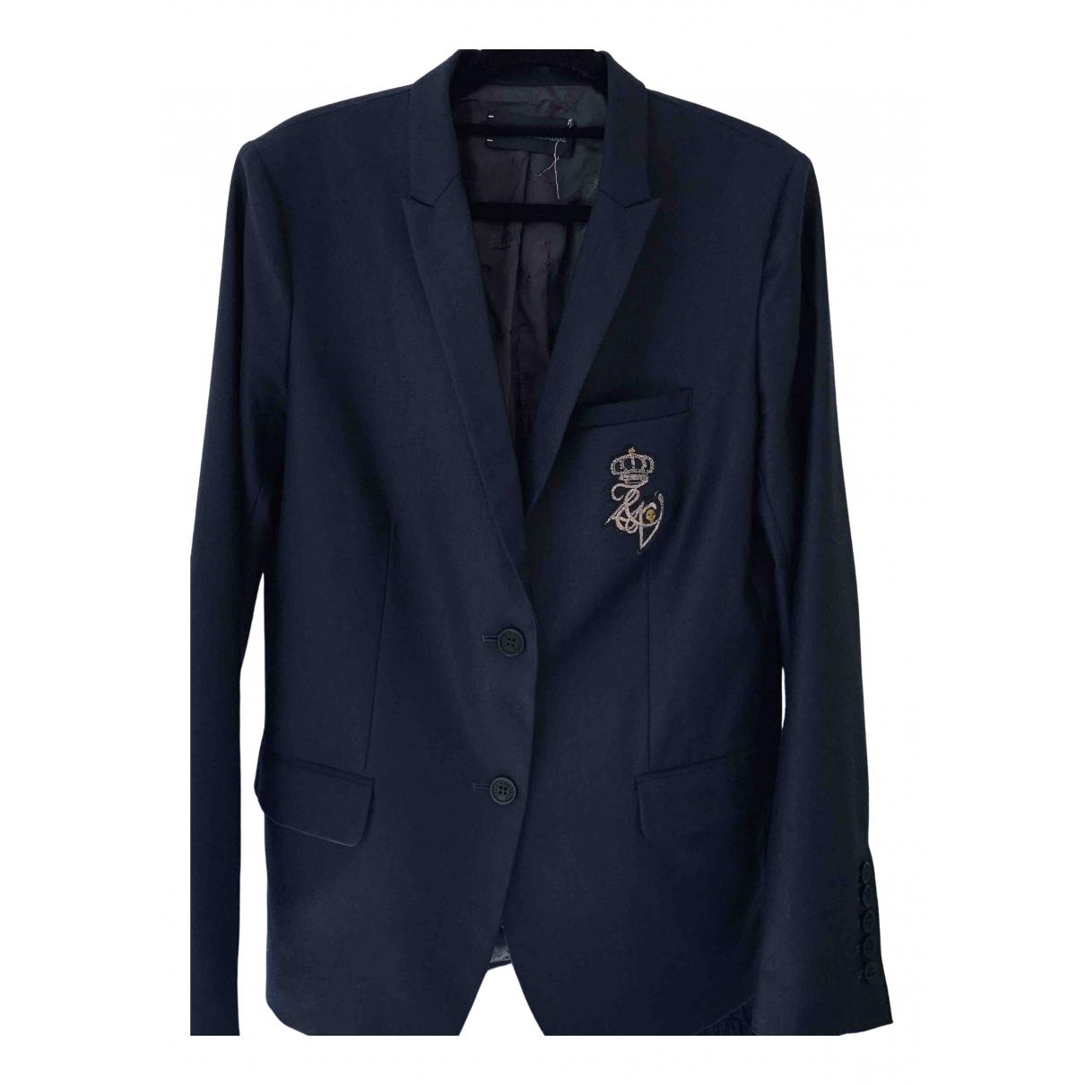 Zadig & Voltaire \N Navy Wool jacket for Women M International
