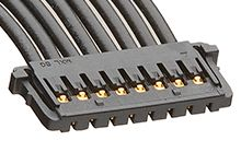 Molex 15132 Series Number Wire to Board Cable Assembly 1 Row, 10 Way 1 Row 10 Way, 450mm (250)