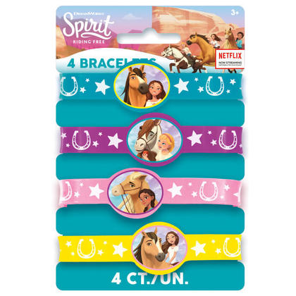 Riding Free 4 Stretchy Bracelets For Birthday Party