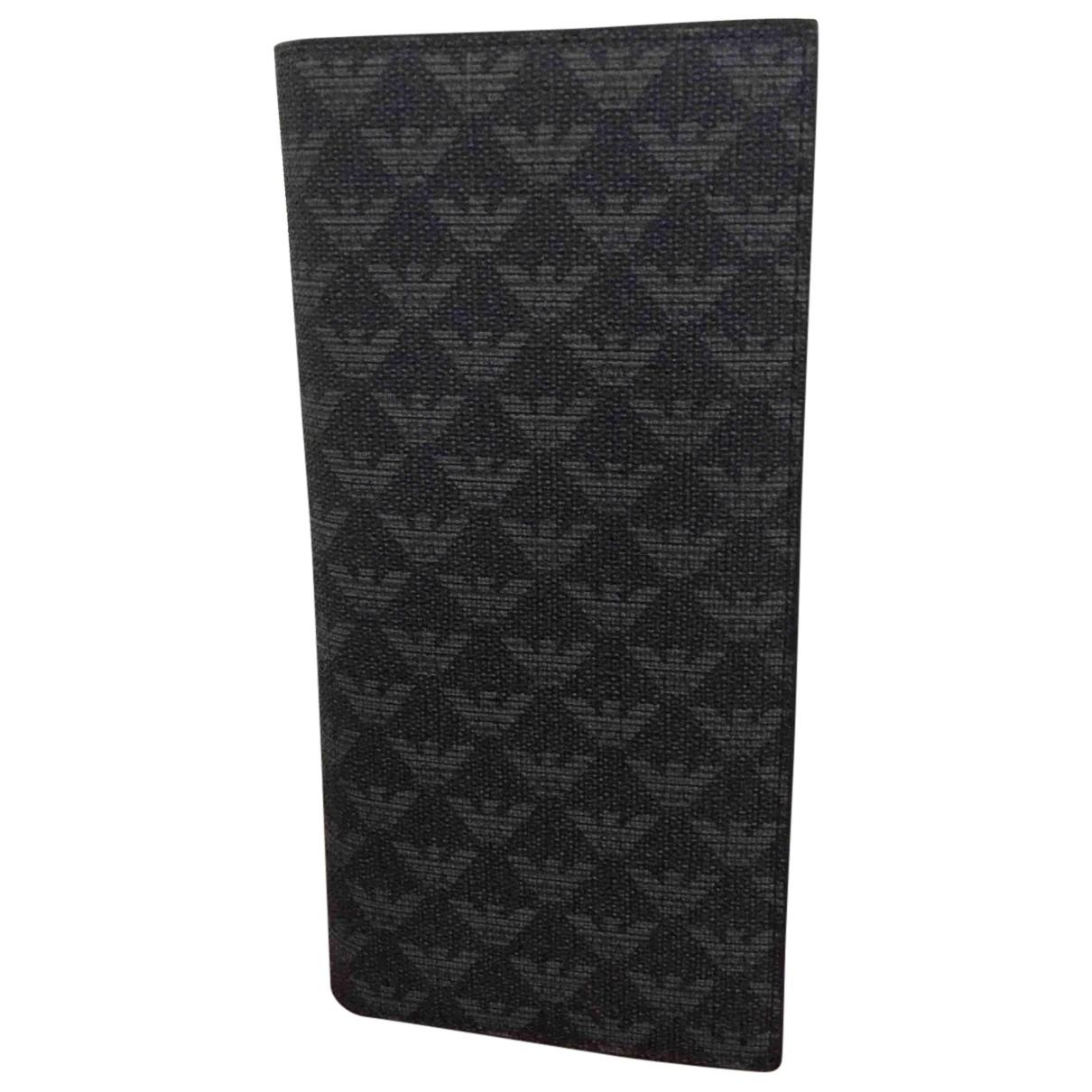 Emporio Armani N Black Cloth Small bag, wallet & cases for Men N