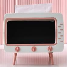 Caja de servilleta en forma de TV