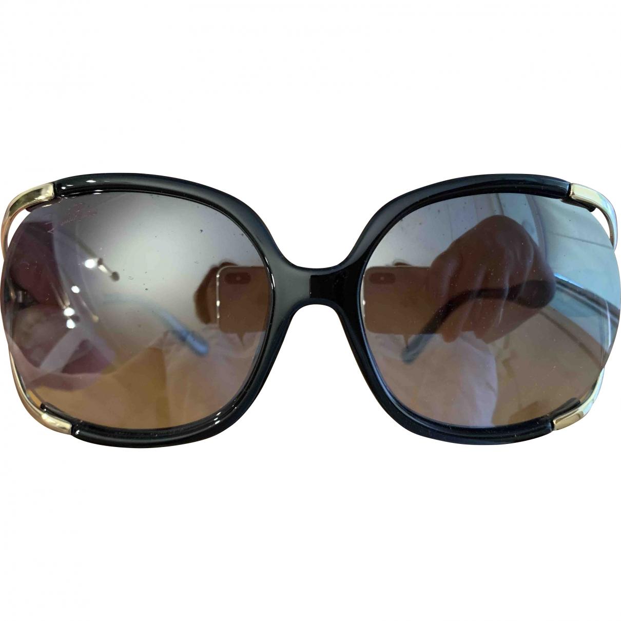 Emilio Pucci \N Sonnenbrillen in  Schwarz Kunststoff
