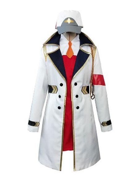 Milanoo Darling In The FranXX Code 002 Zero Two Dust Coat Disfraz de Cosplay de Halloween