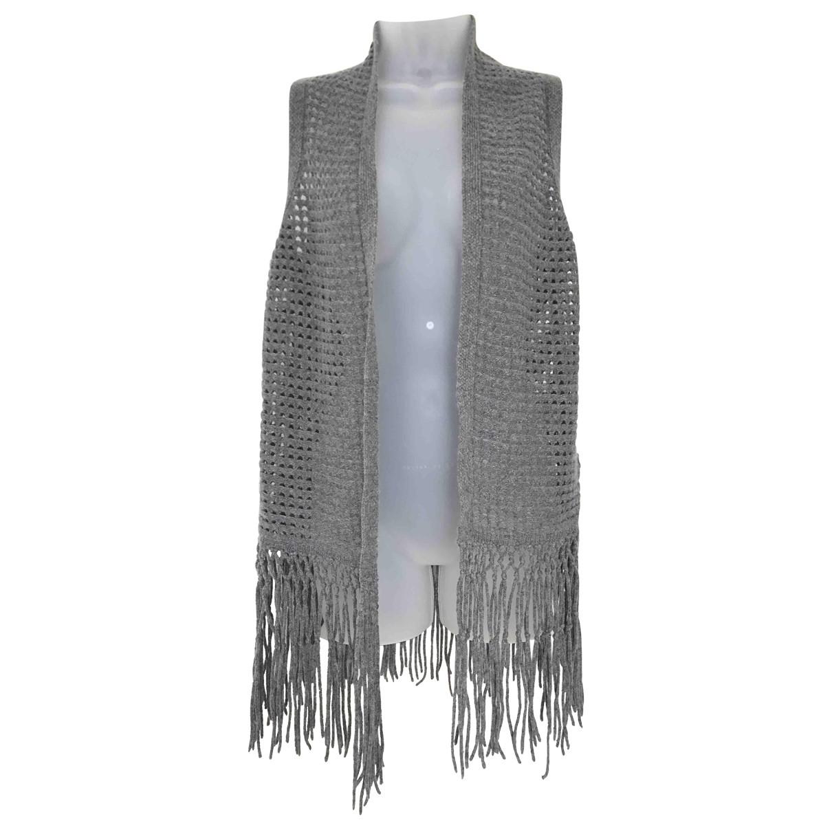 Elie Tahari \N Pullover in  Grau Wolle