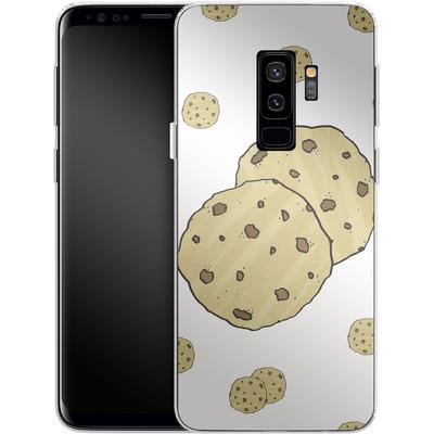 Samsung Galaxy S9 Plus Silikon Handyhuelle - Cookies von caseable Designs