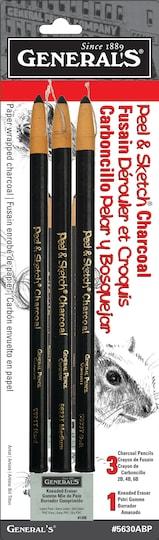 General's® Peel & Sketch® Charcoal Pencils | Michaels®