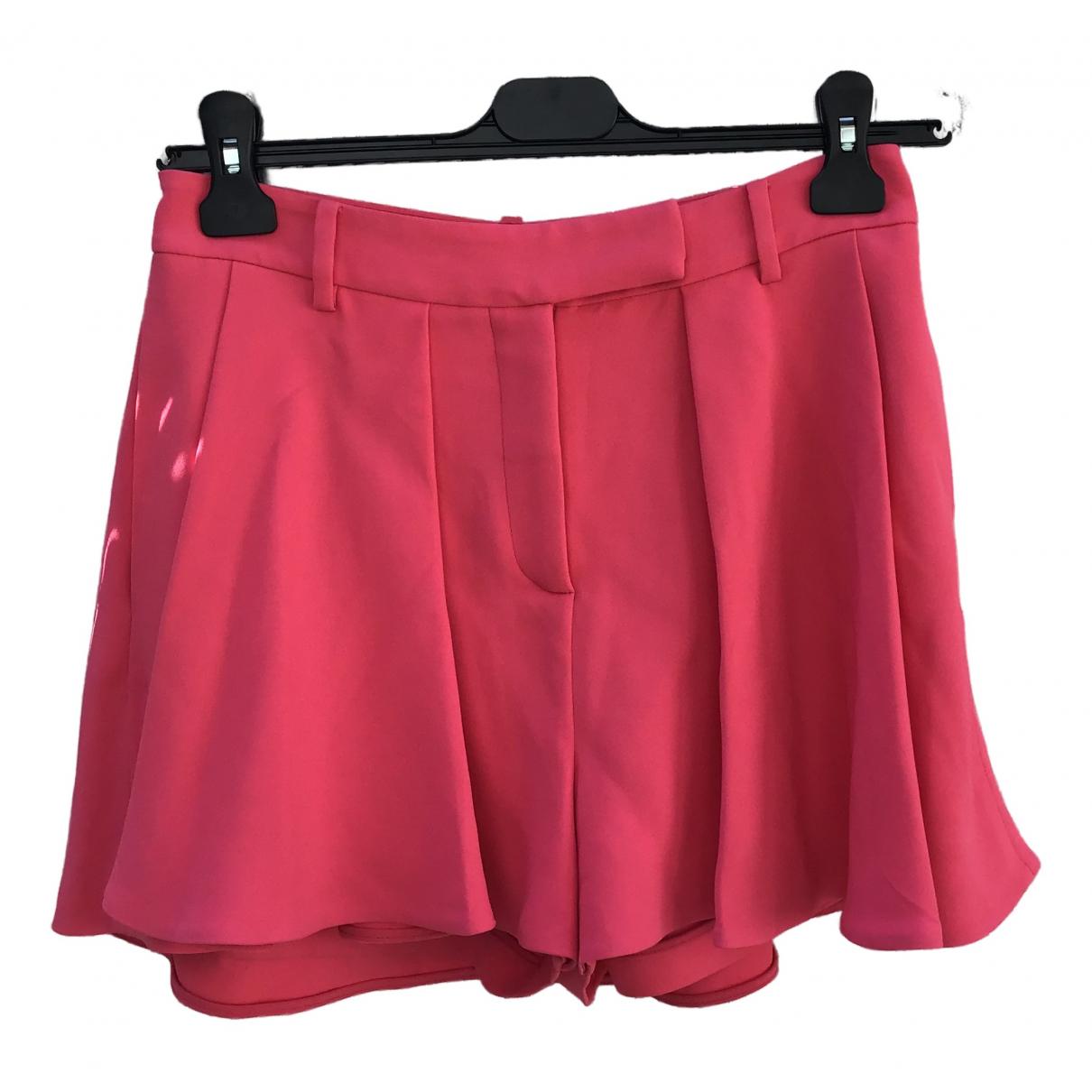 Elie Saab N Pink Shorts for Women 36 FR