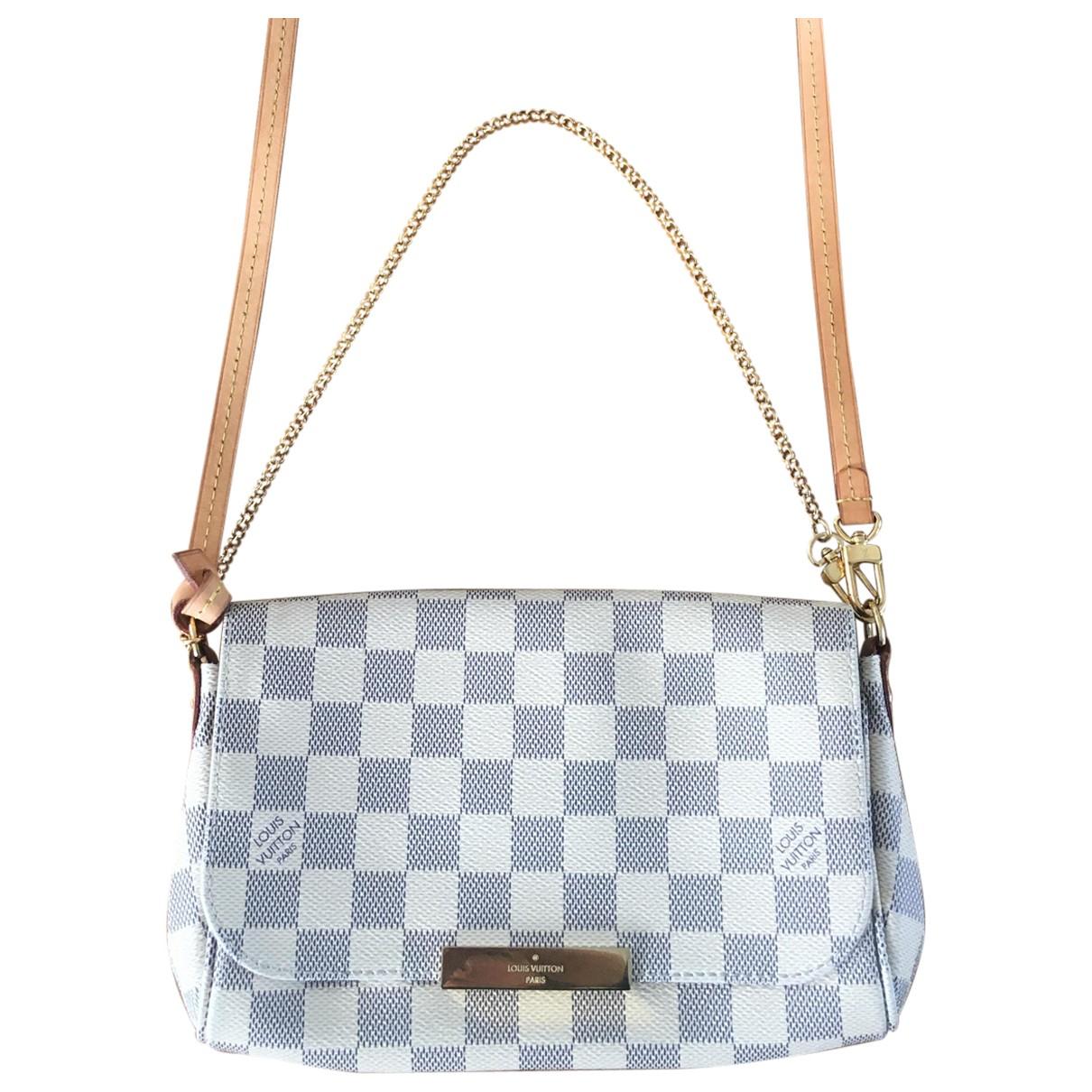 Louis Vuitton Favorite White Cloth handbag for Women \N