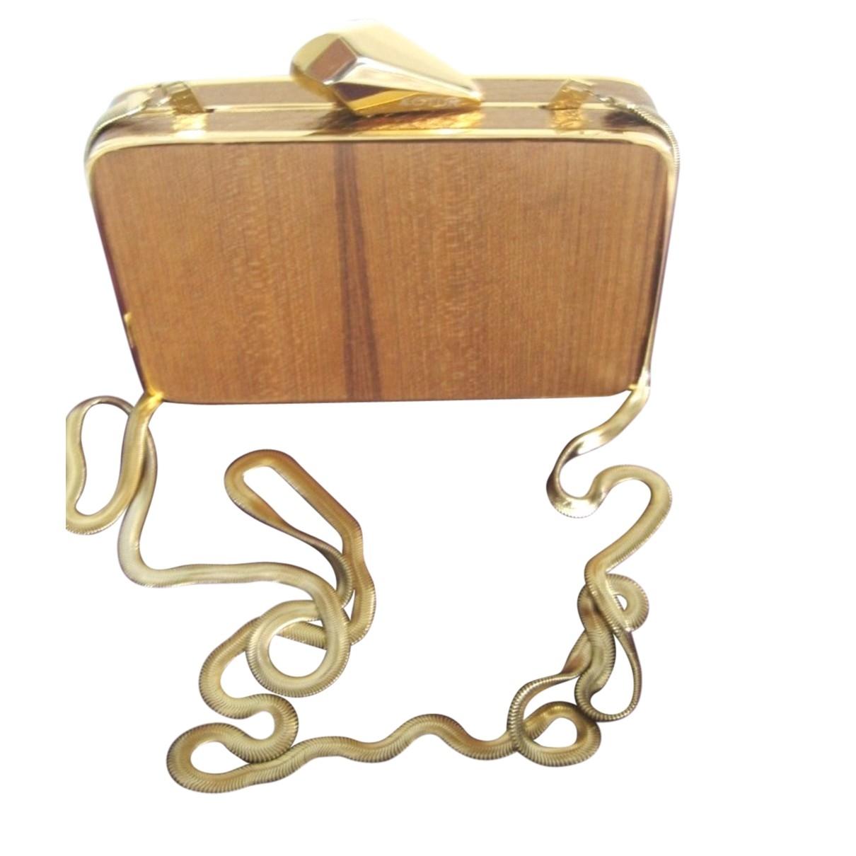 Kotur - Pochette   pour femme en metal - dore