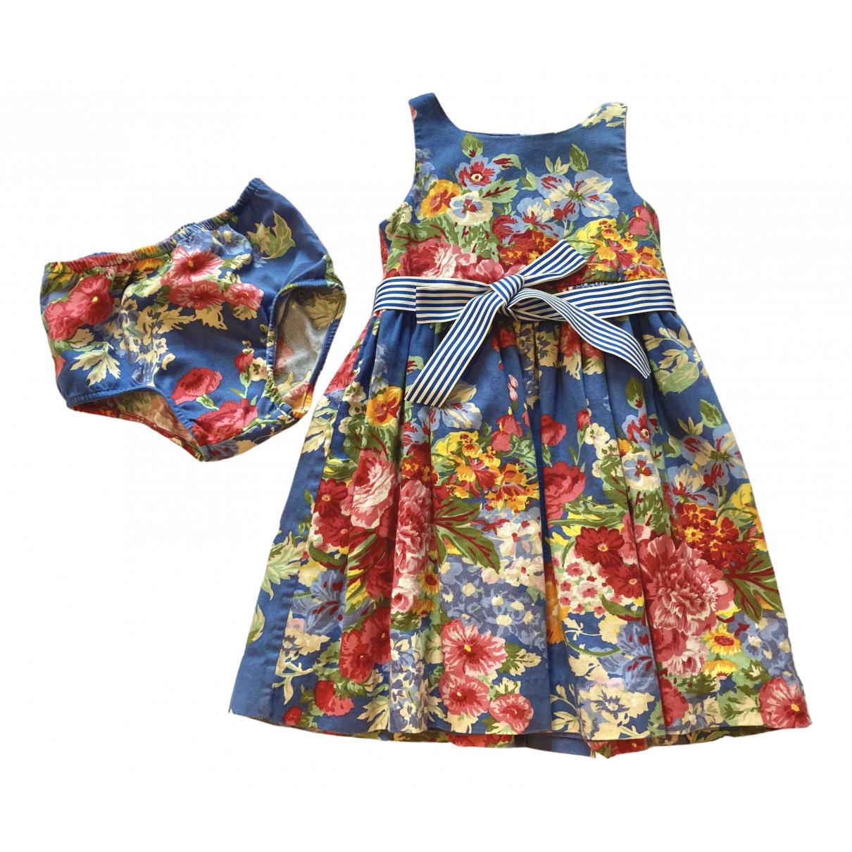 Ralph Lauren \N Multicolour Cotton dress for Kids 18 months - up to 81cm FR
