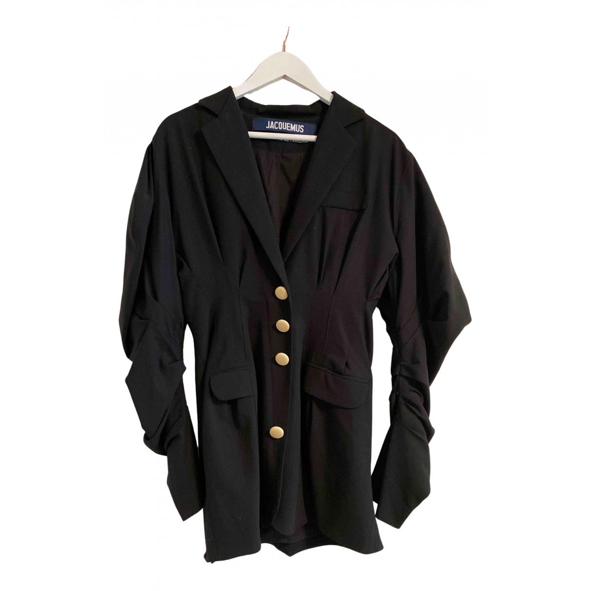 Jacquemus Les Santons de Provence Black Wool jacket for Women 40 FR