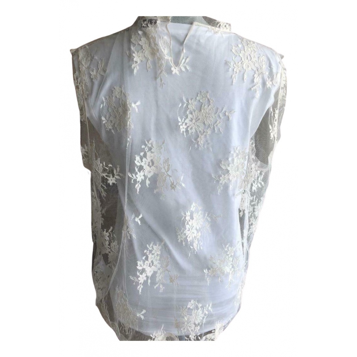 Brunello Cucinelli \N White Lace  top for Women S International