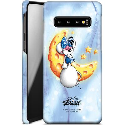 Samsung Galaxy S10 Smartphone Huelle - Diddlina Moon von Diddl