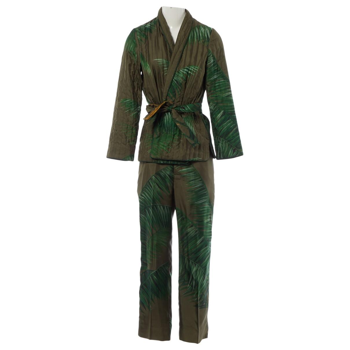 F.r.s For Restless Sleepers \N Green Silk jacket for Women M International