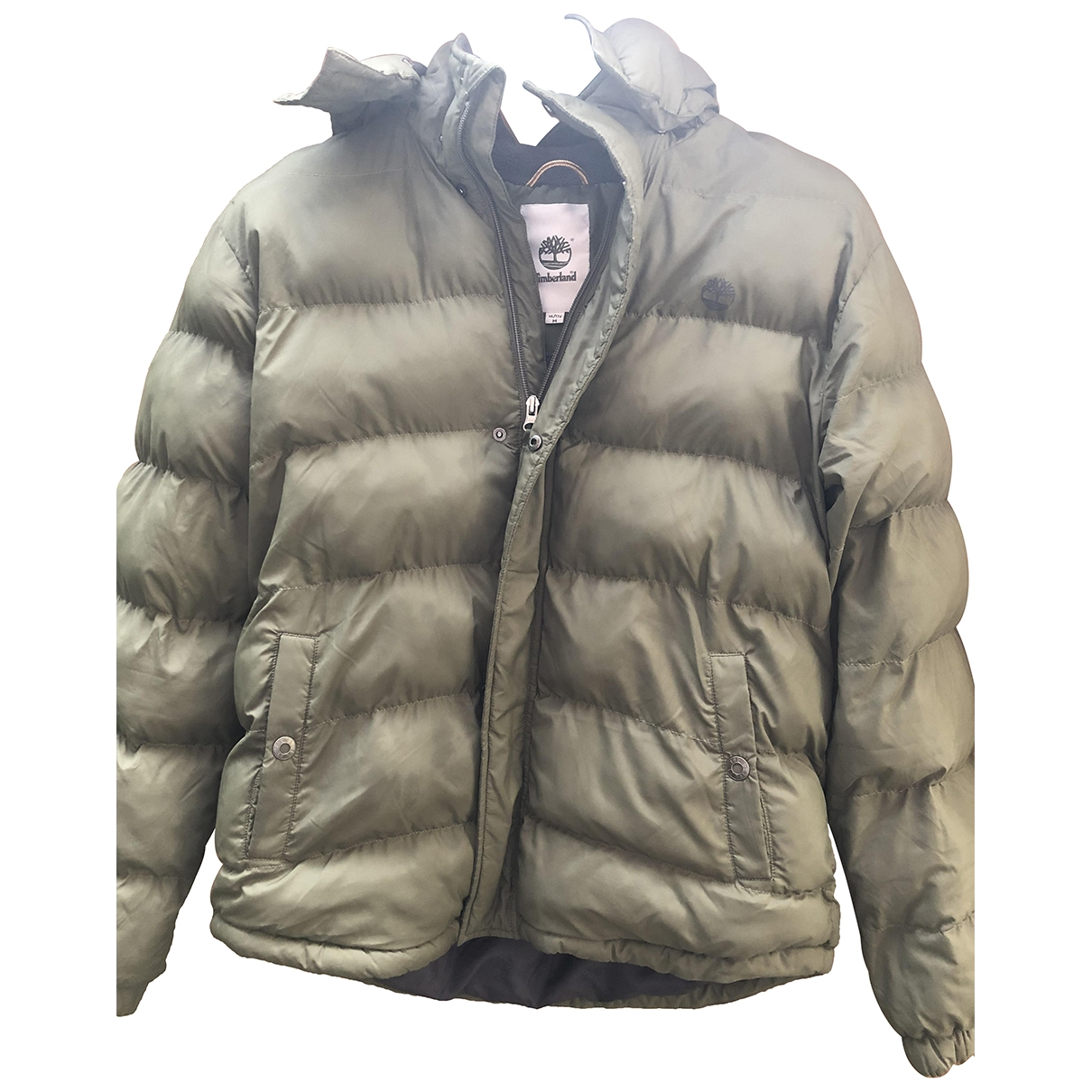 Timberland - Blousons.Manteaux   pour enfant - vert