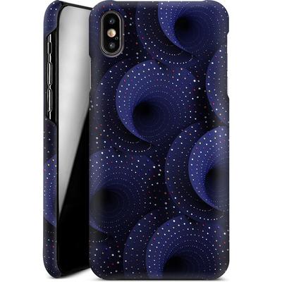 Apple iPhone XS Max Smartphone Huelle - Spiral Pattern von Danny Ivan