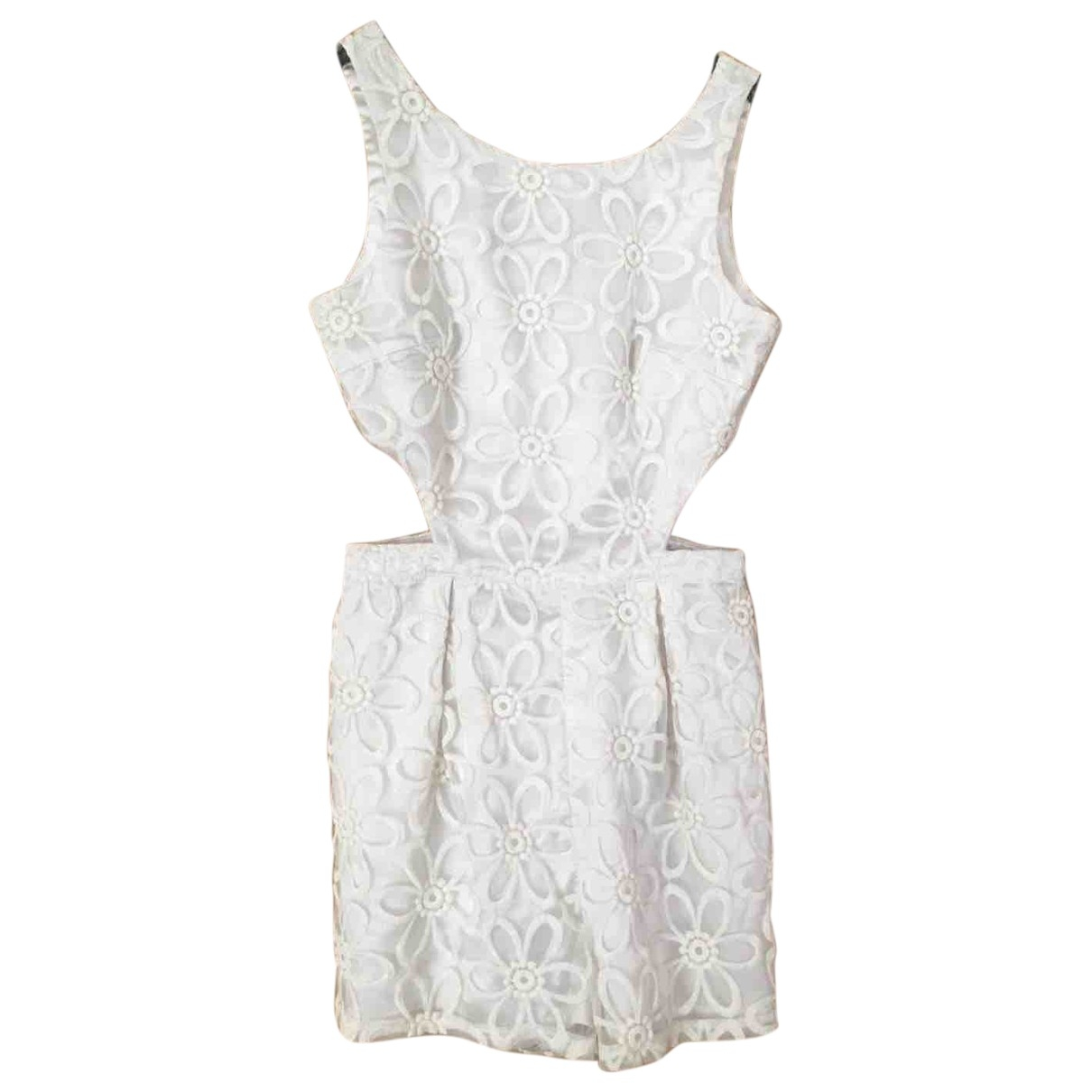 Non Signé / Unsigned \N White dress for Women 8 UK