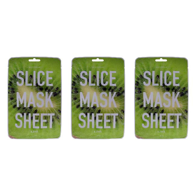 Slice Sheet Mask - Kiwi - 6ct