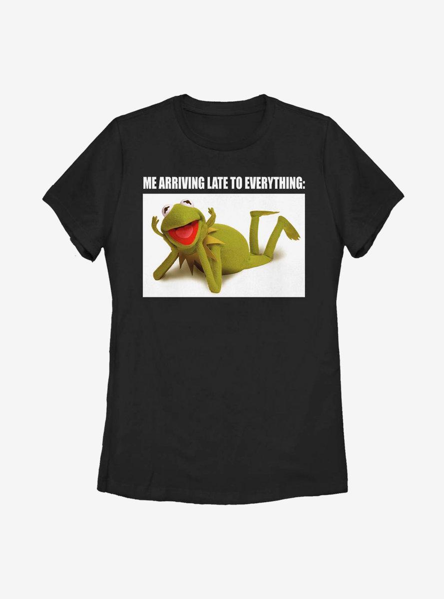 Disney The Muppets Late Kermit Womens T-Shirt