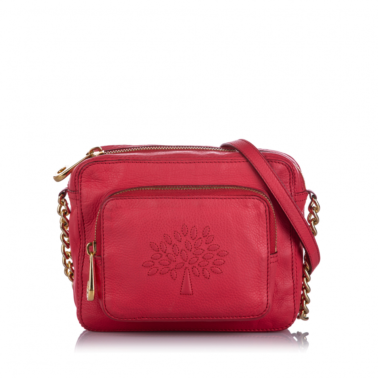 Mulberry \N Red Leather handbag for Women \N