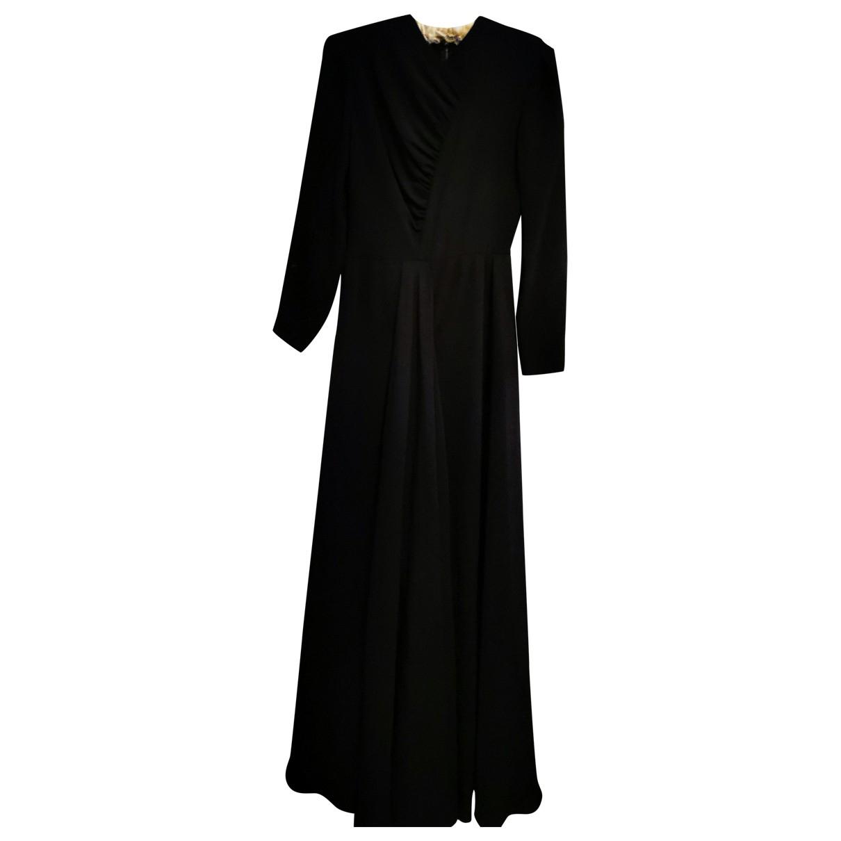 Valentino Garavani \N Black Silk dress for Women 38 FR