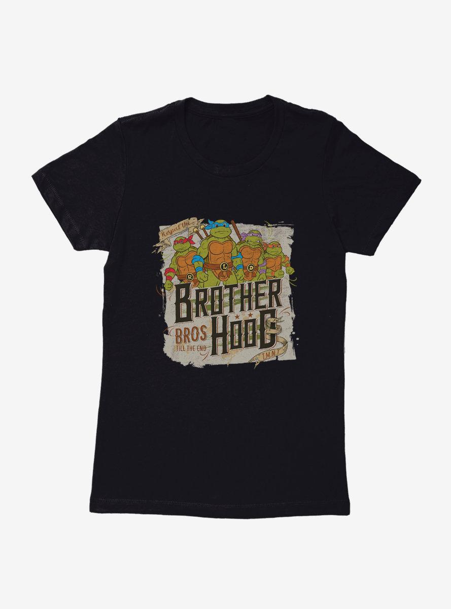 Teenage Mutant Ninja Turtles Brotherhood Bros Till The End Womens T-Shirt