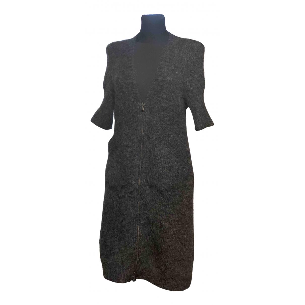 Hermes - Pull   pour femme en laine - gris