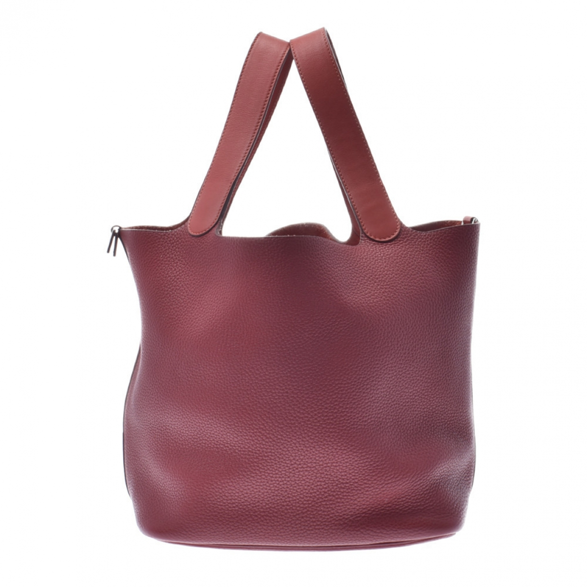 Hermès Picotin Red Leather handbag for Women \N