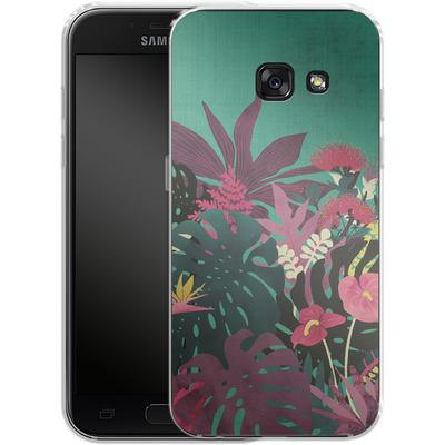 Samsung Galaxy A3 (2017) Silikon Handyhuelle - Tropical Tendencies von Little Clyde