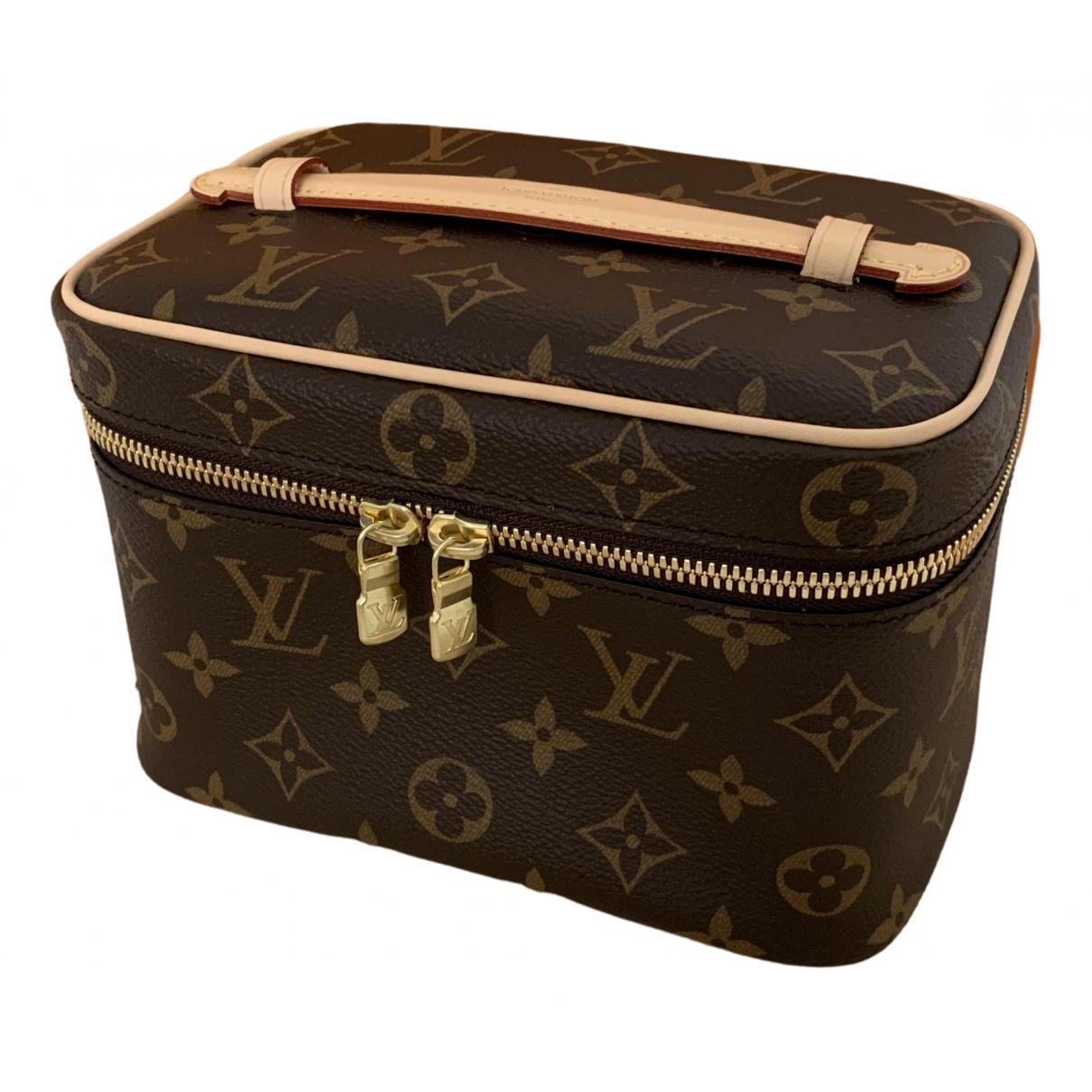 Louis Vuitton Nice Brown Cloth Travel bag for Women \N