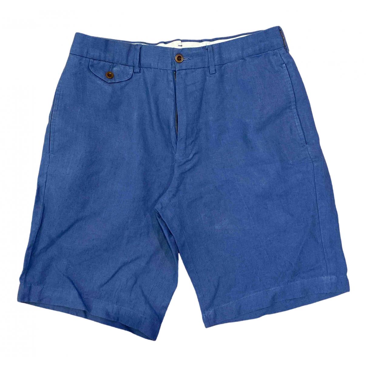 Polo Ralph Lauren \N Shorts in  Blau Leinen