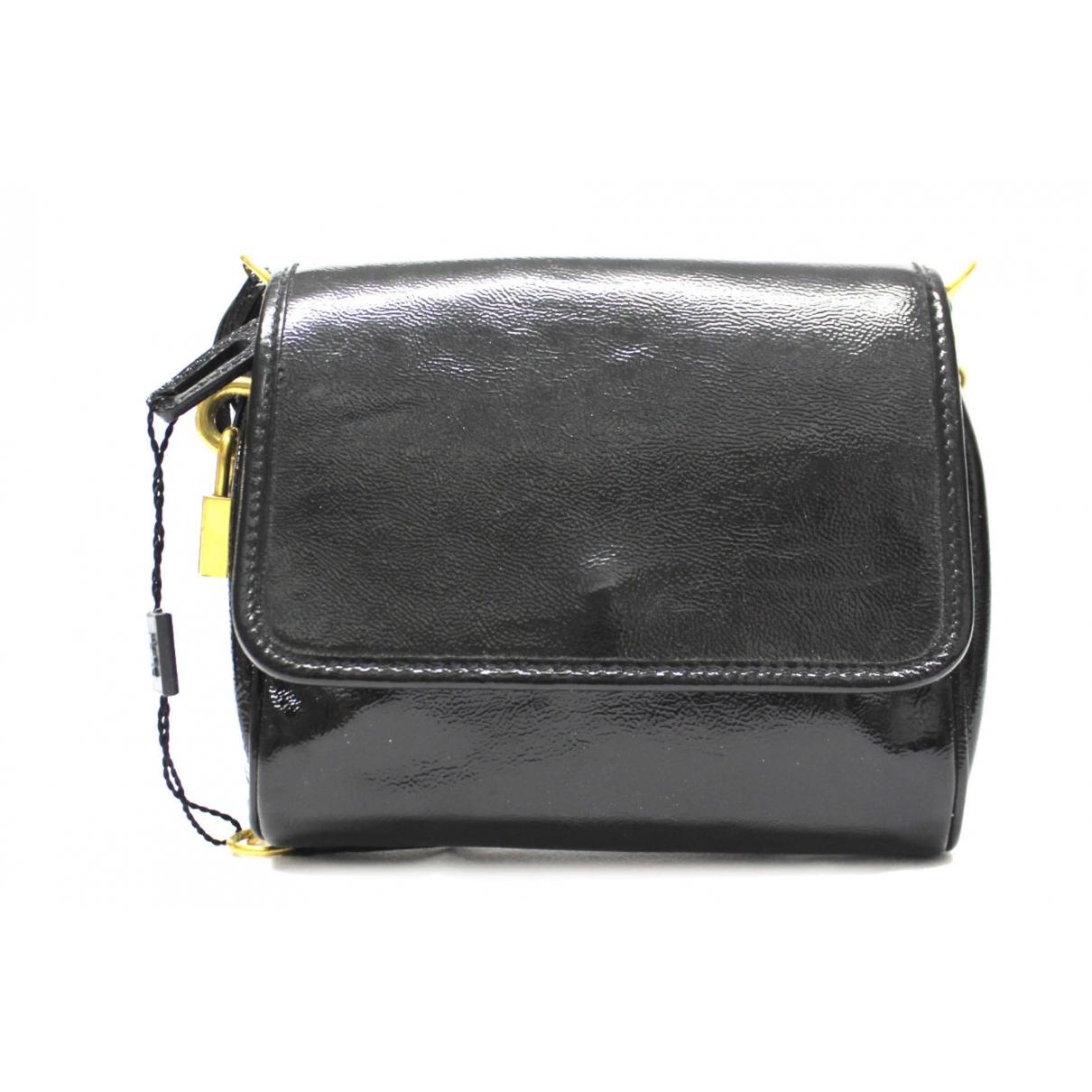 Yves Saint Laurent \N Black Patent leather handbag for Women \N