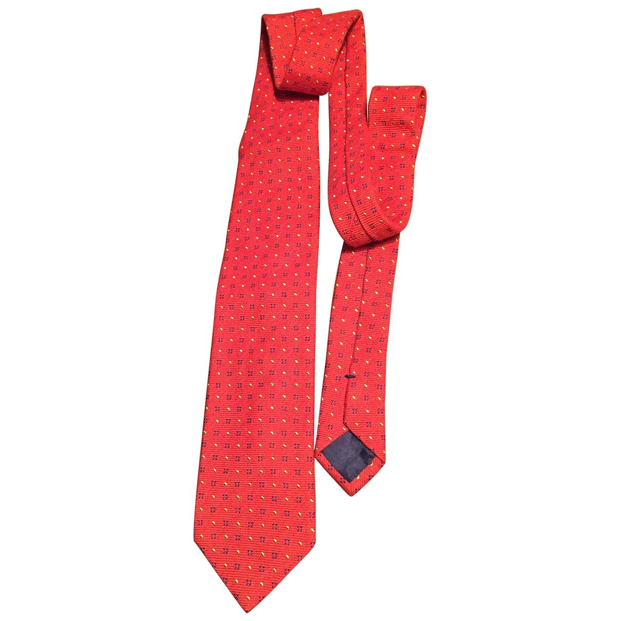 Churchs - Cravates   pour homme en laine - rouge
