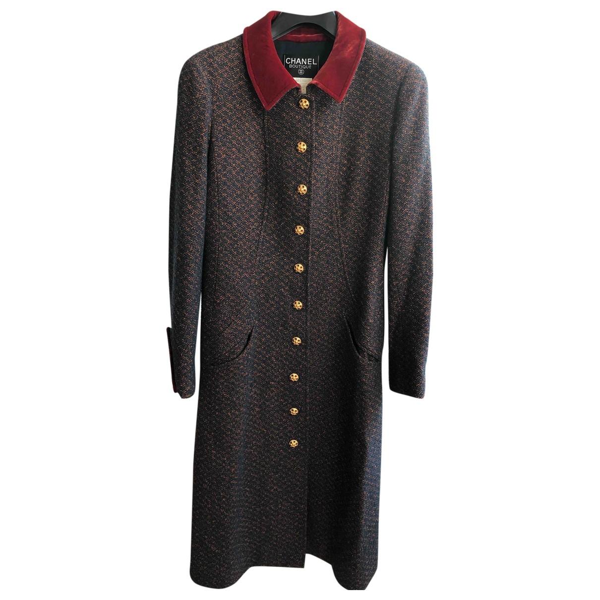 Abrigo Tweed Chanel
