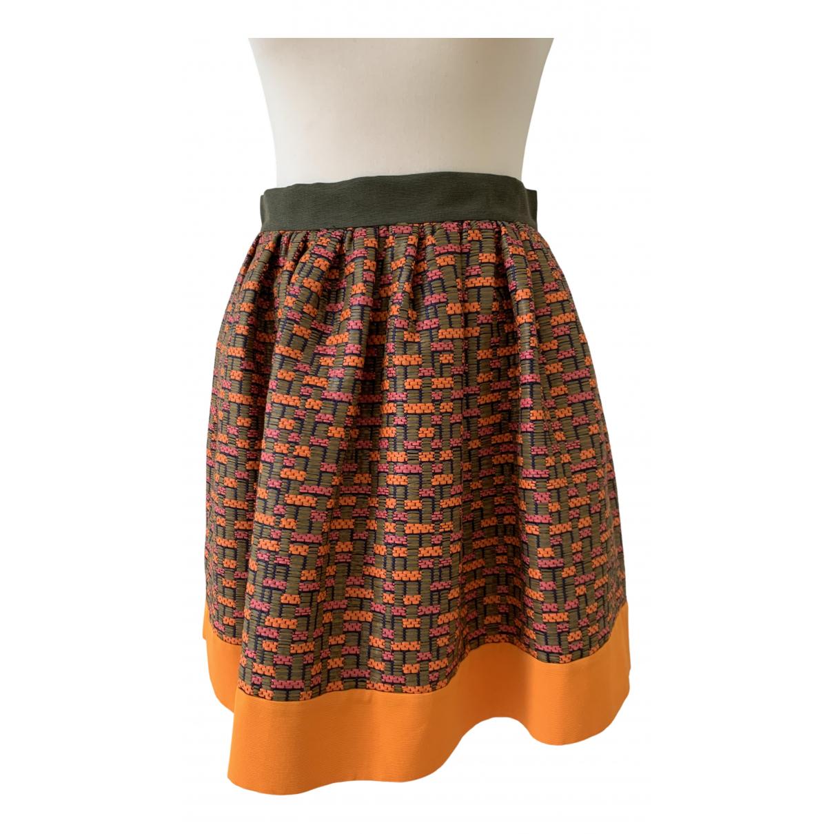 Msgm - Jupe   pour femme - orange