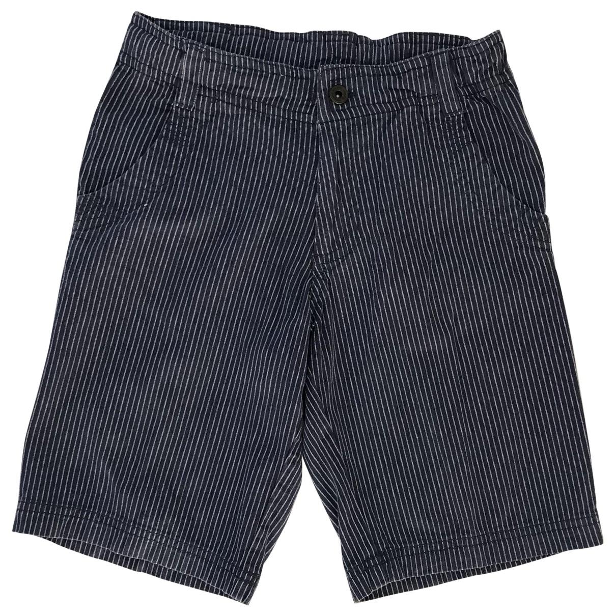 Champion - Short   pour enfant en coton - bleu