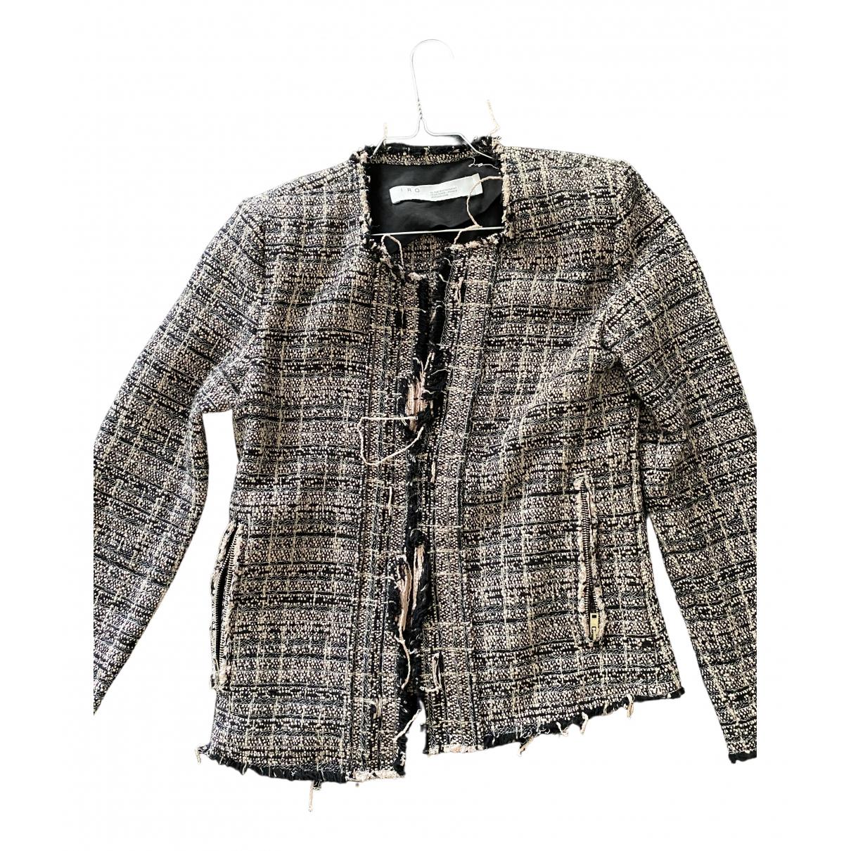 Iro - Veste Fall Winter 2019 pour femme en tweed - rose