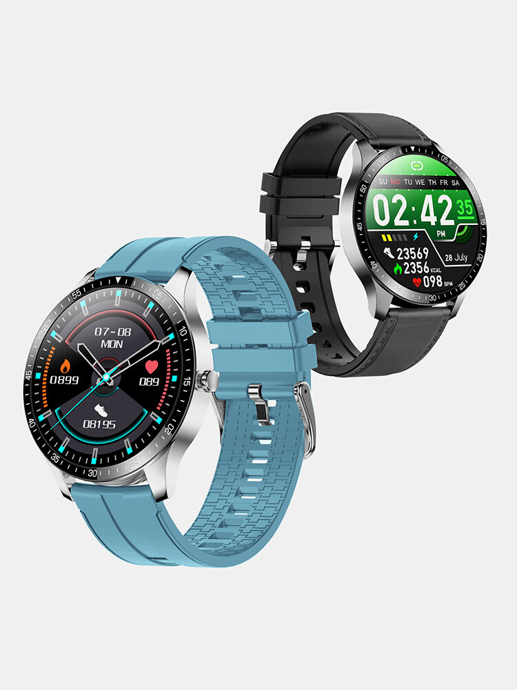 SENBONO S80 Full Touch HD Screen Heart Rate Blood Pressure Monitor 30 Days Standby Multiple Watch Face IP68 Waterproof U