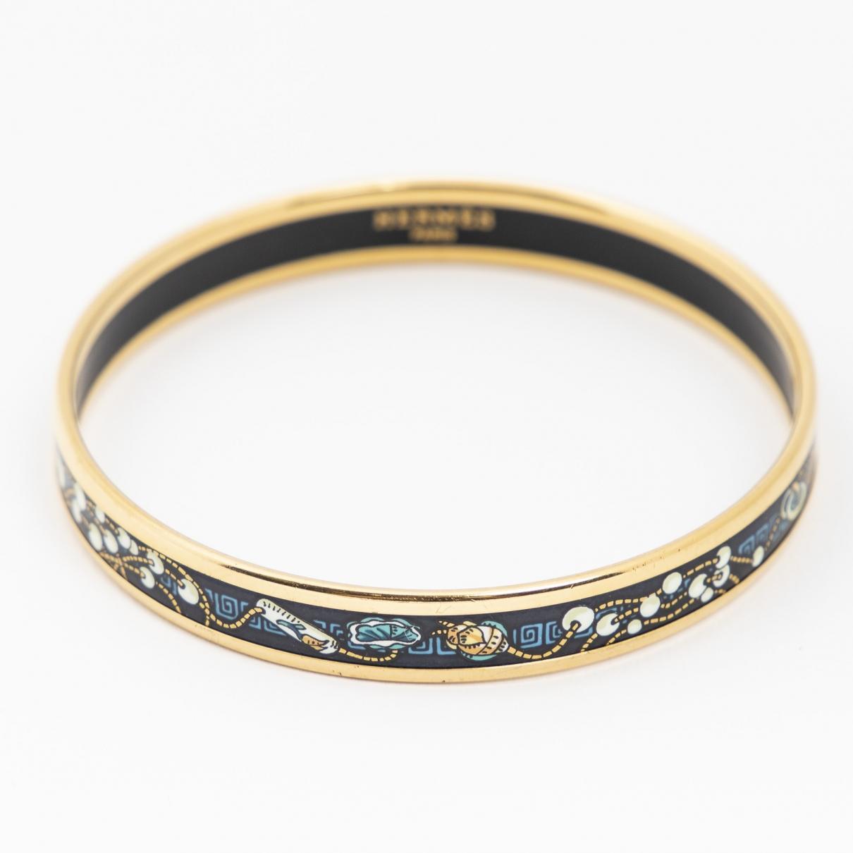 Hermes - Bracelet   pour femme en metal