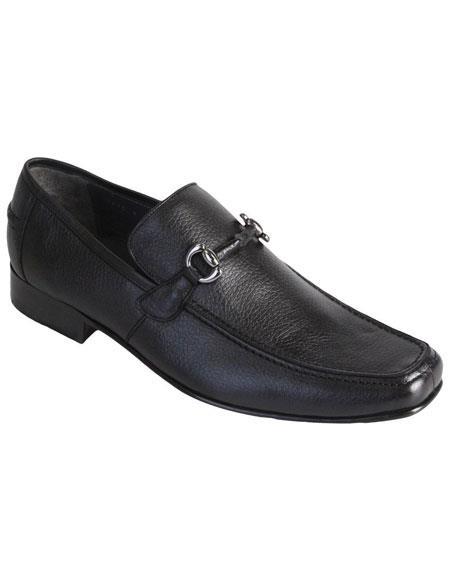 Los Altos Genuine Full Deer Skin Dress Shoes Casual Slip On Loafer