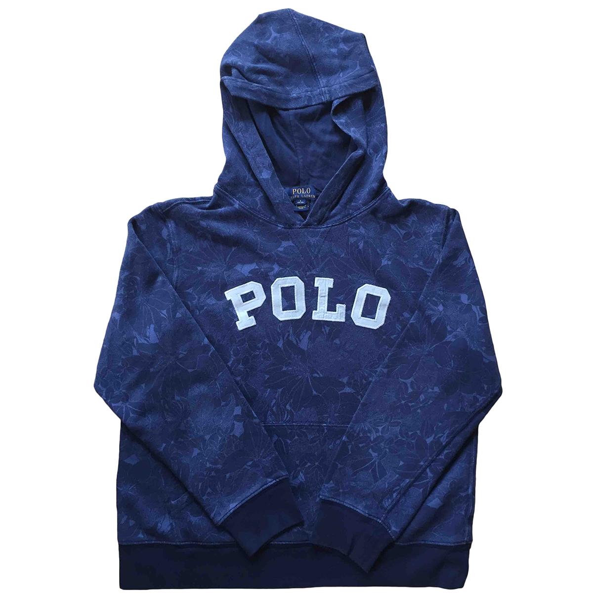 Polo Ralph Lauren \N Blue Cotton Knitwear for Kids 18 years - L FR