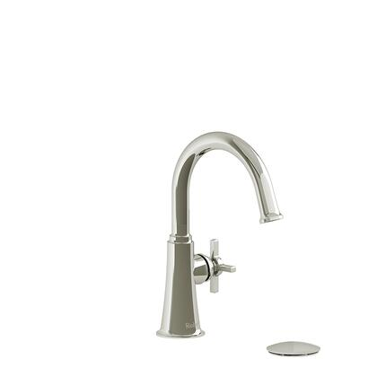 Momenti MMRDS01+PN Single Hole Lavatory Faucet with + Cross Handle 1.5 GPM  in Polished