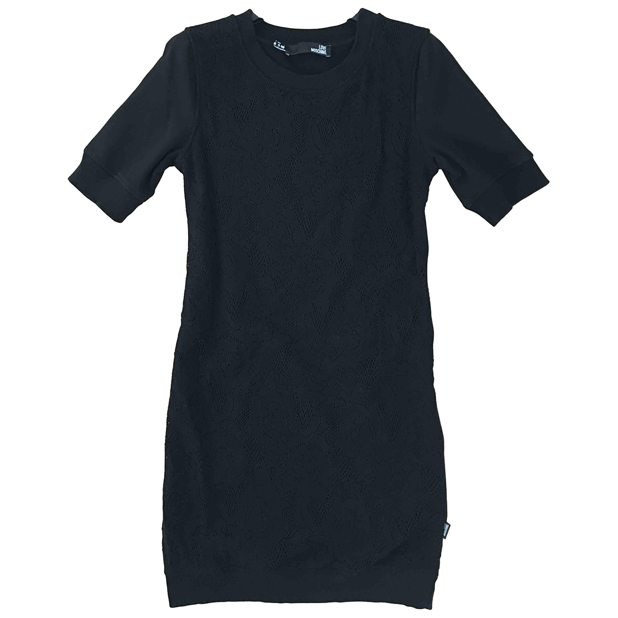 Moschino Love - Robe   pour femme en dentelle - noir