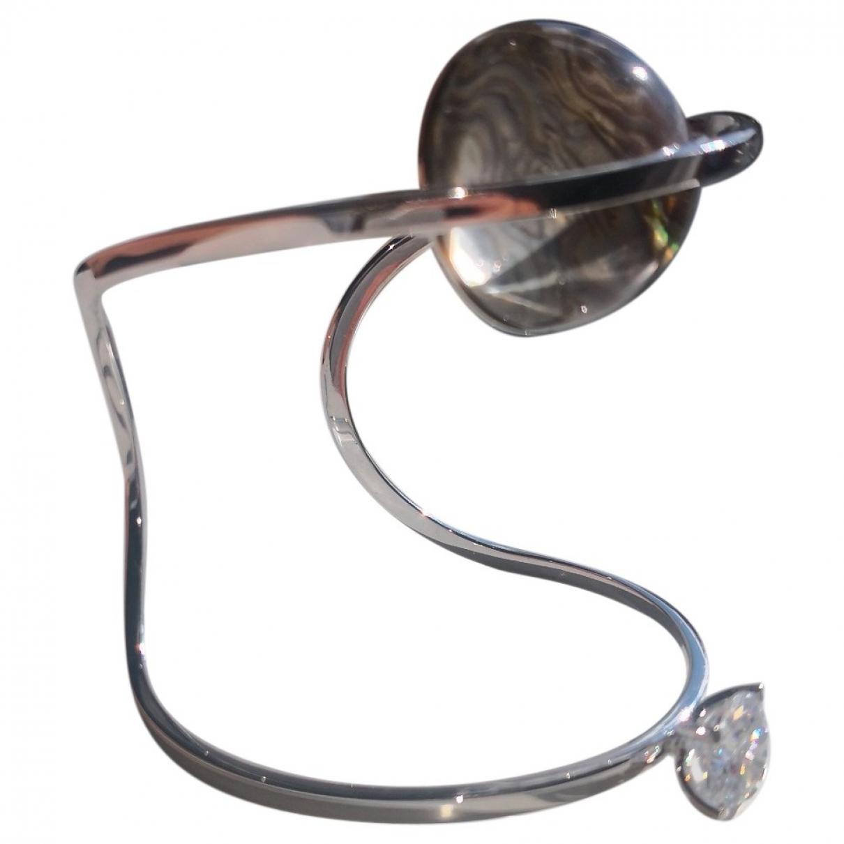 Fendi \N Armband in  Metallic Kristall