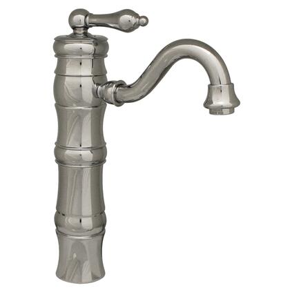 WHSL3-9724-C Vintage III single hole/single lever elevated lavatory faucet with traditional