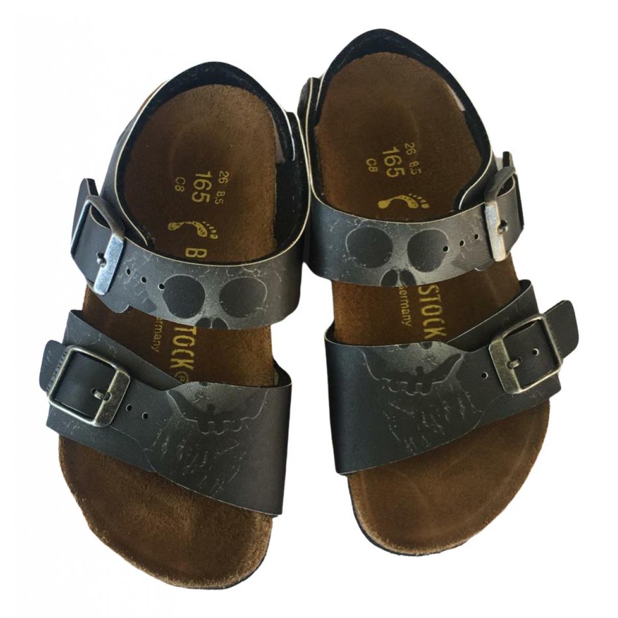 Birkenstock - Sandales   pour enfant en cuir - multicolore